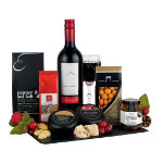 Wine and Cheddar Christmas hamper