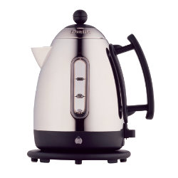 Morphy Richards Dualit 1.5 litre stainless steel and black cordless jug kettle