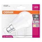 Osram LED GLS BC 10 watt 60 watt equivalent Frosted Light Bulb