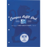 Campus Refill pad 300 pages in navy