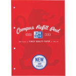 Campus Refill pad 300 pages in red