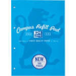 Campus Refill pad 300 pages in aqua