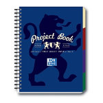 Campus A4 Project book in navy