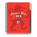 Campus A4 Project book in red