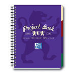 Campus A4 Project book in purple
