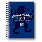 Campus Wirebound notebook A6 in navy