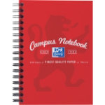 Campus Wirebound notebook A6 in red