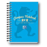 Campus Wirebound notebook A6 in aqua