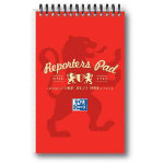 Campus Wirebound reporters notebook in red