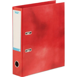 Elba Lever arch file A4 in red