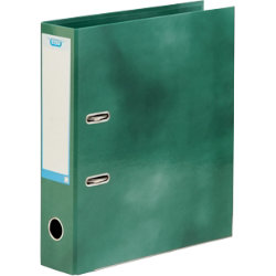 Elba Lever arch file A4 in green