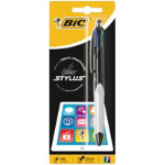 Bic 5 in1 stylus pen with four colours