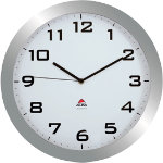 Alba Quartz wall clocks HORISSIMO M Grey