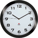 Alba Quartz wall clocks HORISSIMO N Black