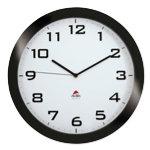 Alba Quartz wall clocks HORISSIMO N Black