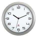 Alba Wall Clock HORNEW M Silver Grey
