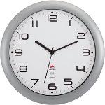 Alba Quartz Wall Clock HORNEWRC M Metallic Grey