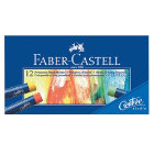 Faber Castell Creative Studio Oil Pastel Crayons Assorted Colours box 12