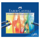 Faber Castell Creative Studio Oil Pastel Crayons Assorted Colours box 24