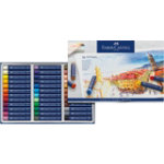 Faber Castell Creative Studio Oil Pastel Crayons Assorted Colours box 36