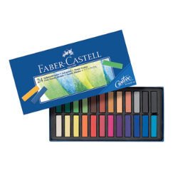 FaberCastell Creative Studio Mini Pastel Crayons Assorted Colours box 24