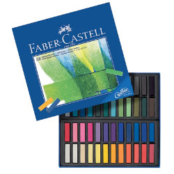 FaberCastell Creative Studio Mini Pastel Crayons Assorted Colours box 48