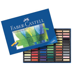 FaberCastell Creative Studio Mini Pastel Crayons Assorted Colours box 72