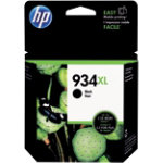 HP 934XL Original Ink Cartridge C2P23AE Black Pack