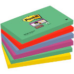 Post it Super Sticky Notes Marrakech Assorted 76 x 127 mm 70gsm 6 pieces of 90 sheets