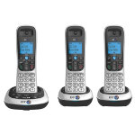 BT Dect Phone BT2700 Trio Silver Black