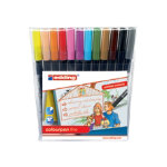 Edding water based fibre pens portrait assortment pack 12