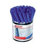 Edding bullet tip handwriting pens pack 42 blue