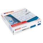 Edding bullet tip handwriting pens box 200 blue