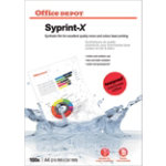 Office Depot Syprint X opaque film for laser printers 160 gsm 115 micron Pack of 100