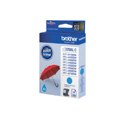 Brother LC225XLC Original Cyan Ink Cartridge LC225XLC