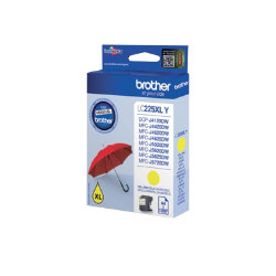 Brother LC225XLY Original Yellow Ink Cartridge LC225XLY