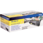 Brother TN 321Y Original Yellow Toner Cartridge