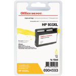 Office Depot Compatible for HP 933XL Yellow Ink Cartridge CN056E
