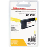 Office Depot Compatible HP No951XL High Capacity Yellow Inkjet Cartridge CN048A