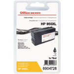 Office Depot Compatible for HP 950XL Black Ink Cartridge CN045AE