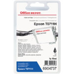 Office Depot Compatible for Epson T0711H Black Ink Cartridge T0711H