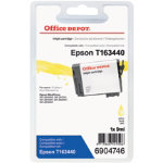 Office Depot Compatible Epson T1634 Yellow Inkjet Cartridge C13T163440