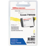 Office Depot Compatible Epson T1814 High Capacity Yellow Inkjet Cartridge C13T181440