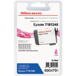 Office Depot Compatible Epson T1813 High Capacity Magenta Inkjet Cartridge C13T181340