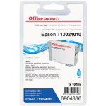 Office Depot Compatible Epson T1302 High Capacity Cyan Inkjet Cartridge C13T130240