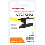 Office Depot Compatible Brother LC1280XLY Yellow Inkjet Cartridge