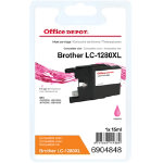 Office Depot Compatible Brother LC1280XLM Magenta Inkjet Cartridge