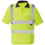 Alexandra Hi Vis polo shirt yellow 3XL