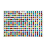 Snopake foolscap popper wallets polka dot pack 5