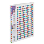 Snopake Polka Dot Ringbinder 25mm capacity two ring